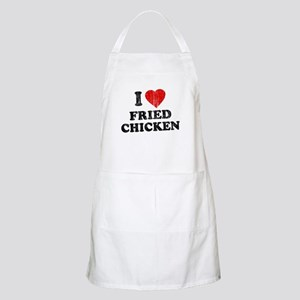 I Love [Heart] Fried Chicken BBQ Apron